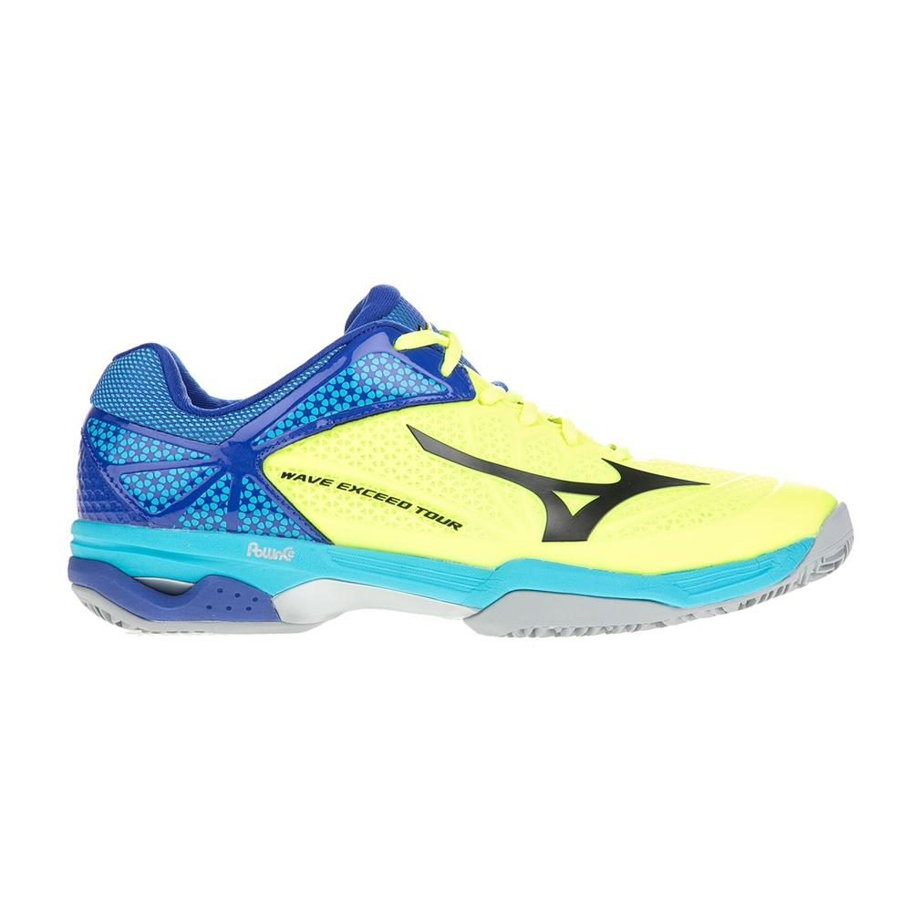 MIZUNO – Ανδρικά παπούτσια τένις MIZUNO Wave Exceed Tour 2 CC κίτρινα-μπλε