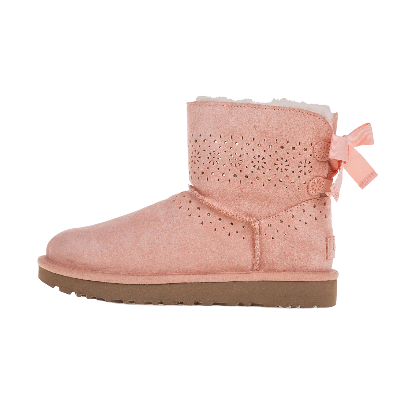 UGG – Γυναικεία χαμηλά μποτάκια UGG DAE SUNSHINE ροζ