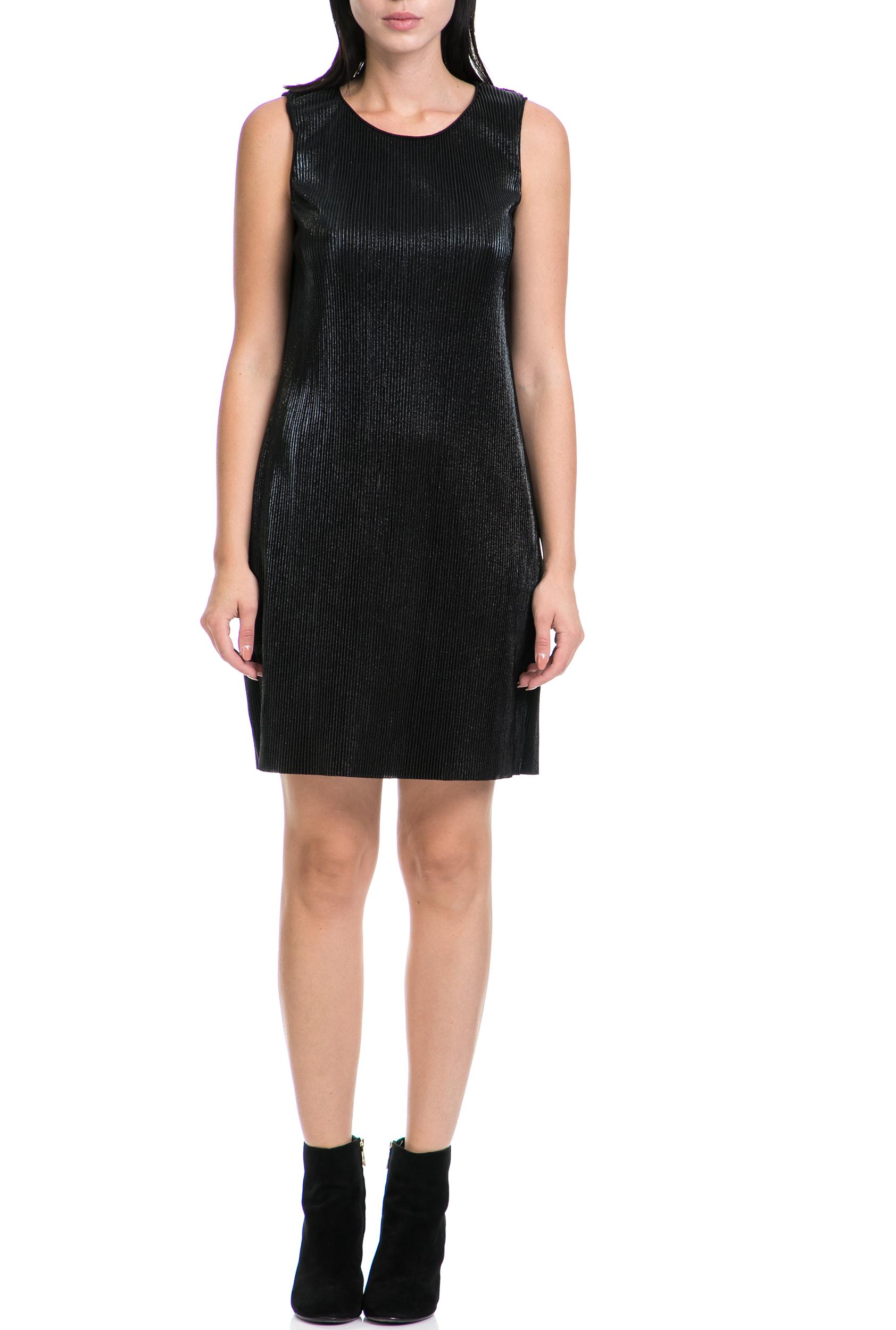 GAS - Γυναικείο φόρεμα LIBER GAS μαύρο γυναικεία ρούχα φορέματα μίνι