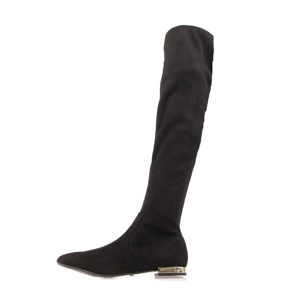 JUICY COUTURE – Γυναικείες μπότες πάνω από το γόνατο JUICY COUTURE BELLA μαύρες