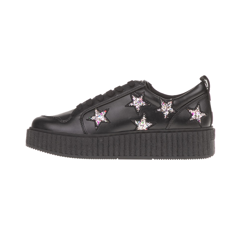JUICY COUTURE – Γυναικεία sneakers DAISY JUICY COUTURE μαύρα