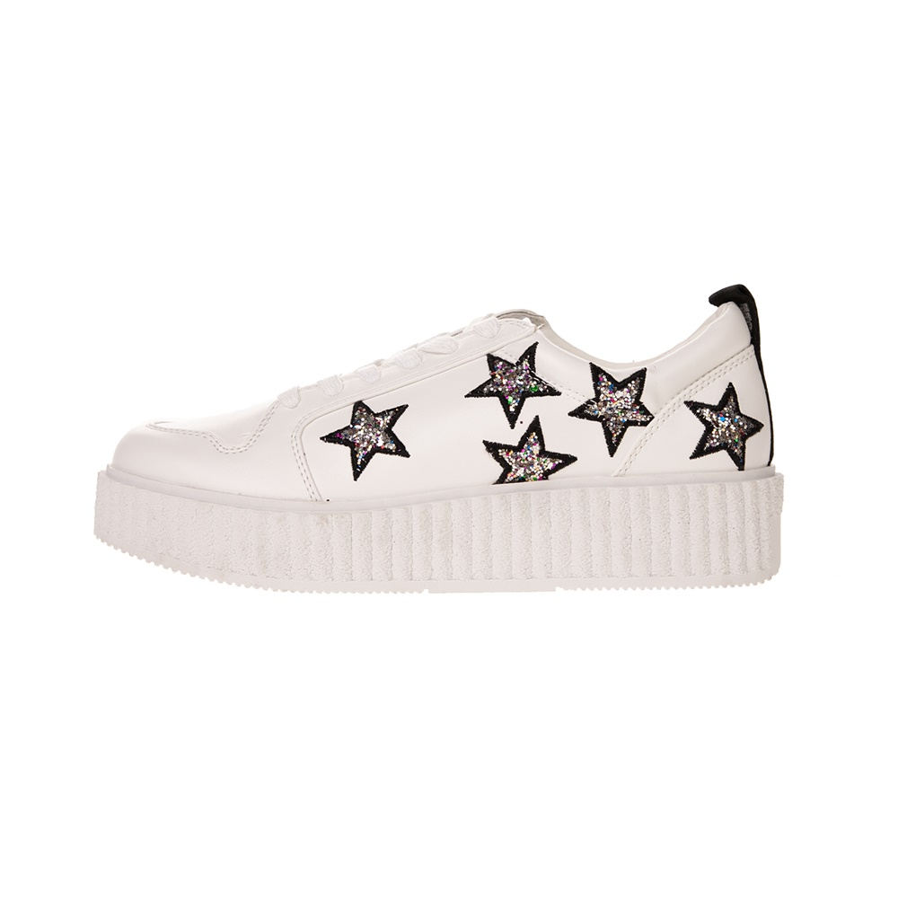 JUICY COUTURE – Γυναικεία sneakers JUICY COUTURE DAISY λευκά