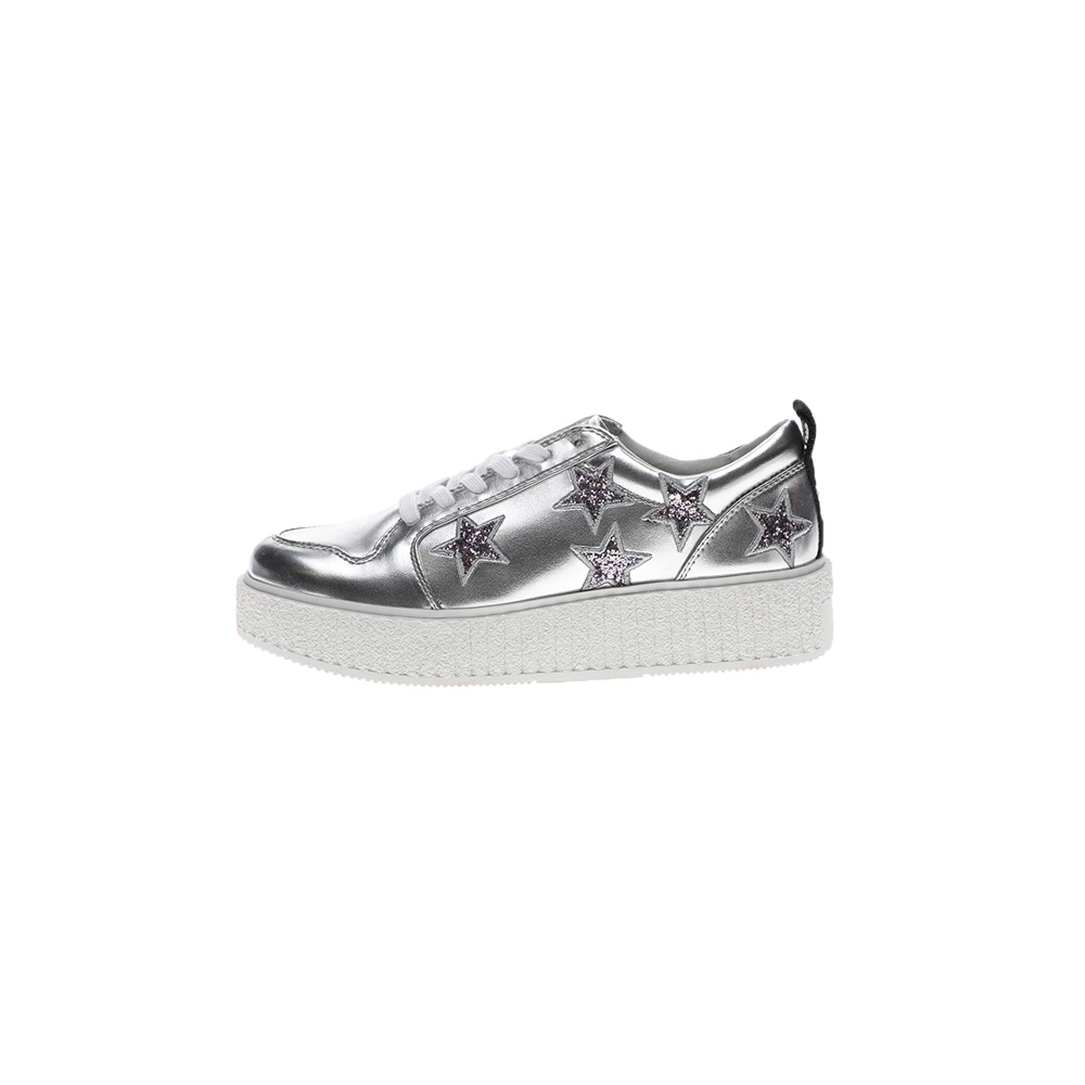 JUICY COUTURE – Γυναικεία sneakers JUICY COUTURE DAISY ασημί