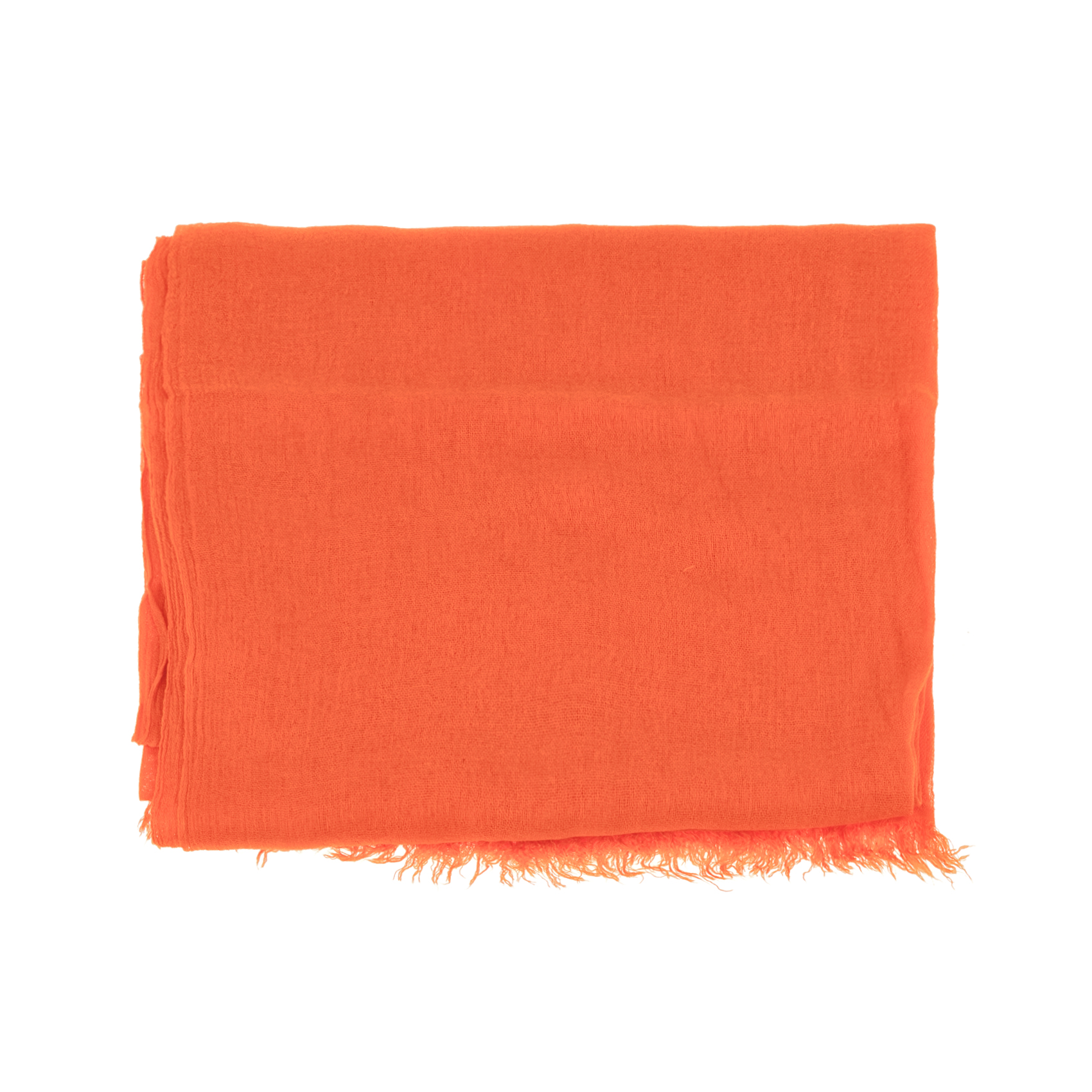 AMERICAN VINTAGE - Γυναικεία εσάρπα AMERICAN VINTAGE πορτοκαλί γυναικεία αξεσουάρ φουλάρια κασκόλ γάντια