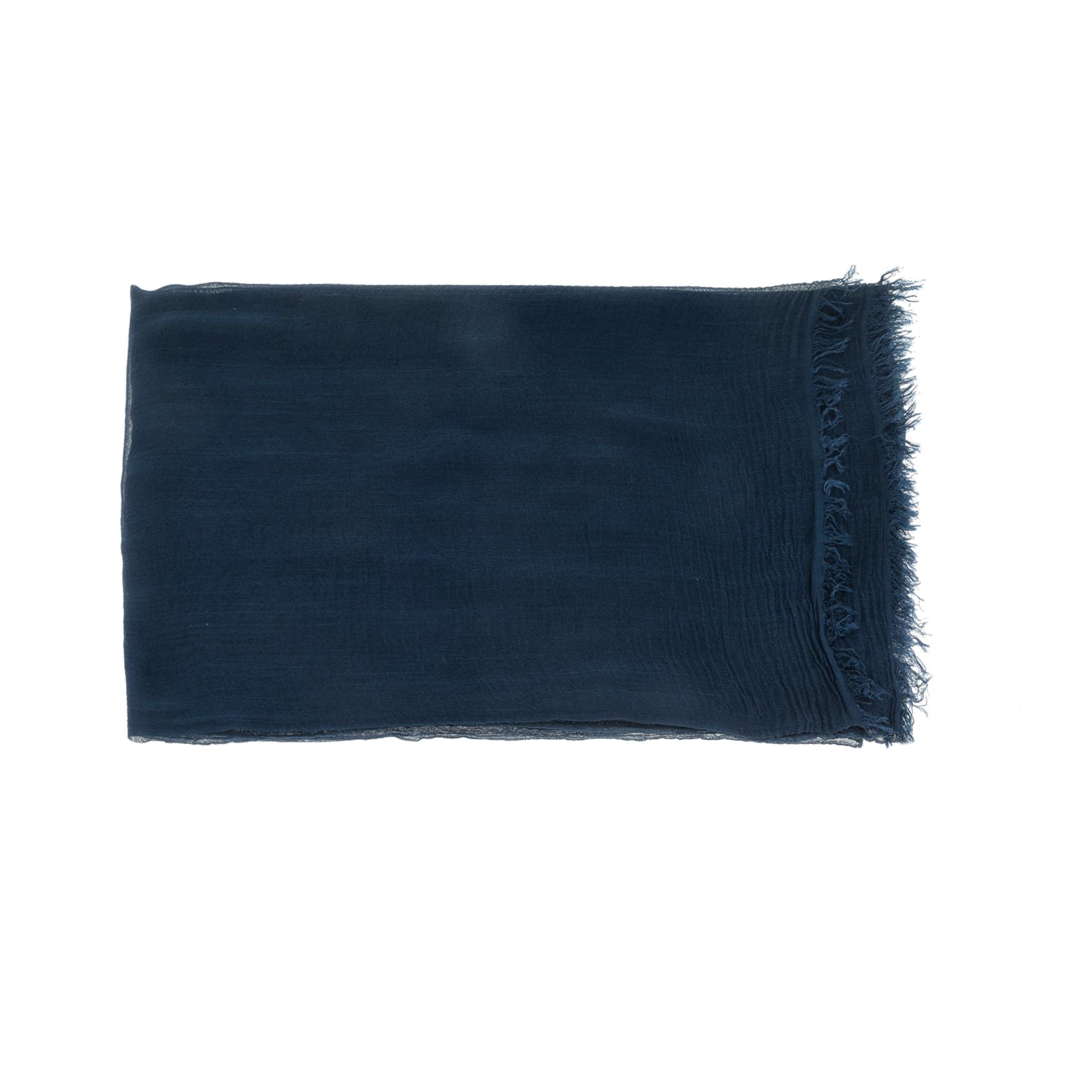 AMERICAN VINTAGE - Γυναικεία εσάρπα AMERICAN VINTAGE μπλε γυναικεία αξεσουάρ φουλάρια κασκόλ γάντια