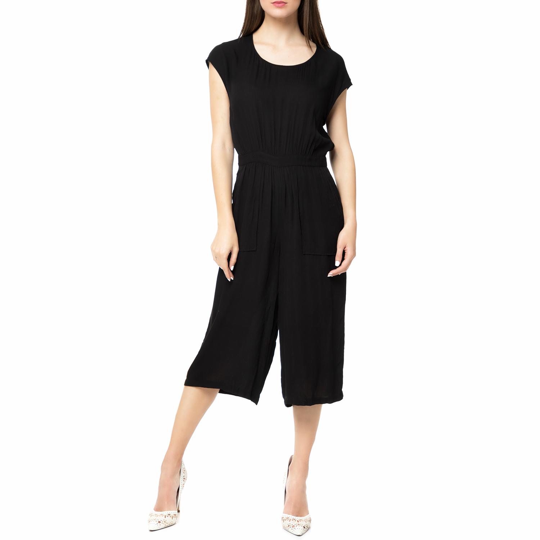 AMERICAN VINTAGE - Γυναικεία crop ολόσωμη φόρμα VALI125E17 AMERICAN VINTAGE μαύρ γυναικεία ρούχα ολόσωμες φόρμες