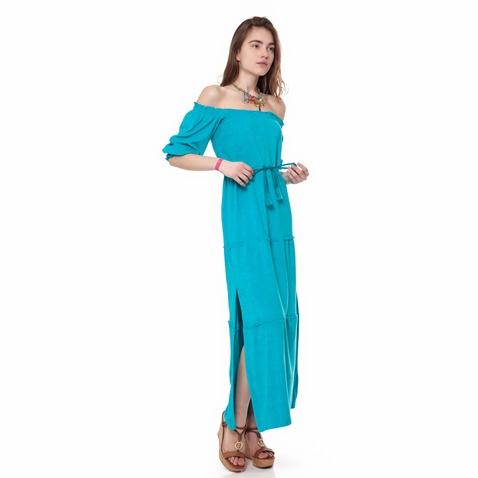 fefa35f47204 Γυναικείο φόρεμα MYMOO τυρκουάζ (1577838.0-00t1)