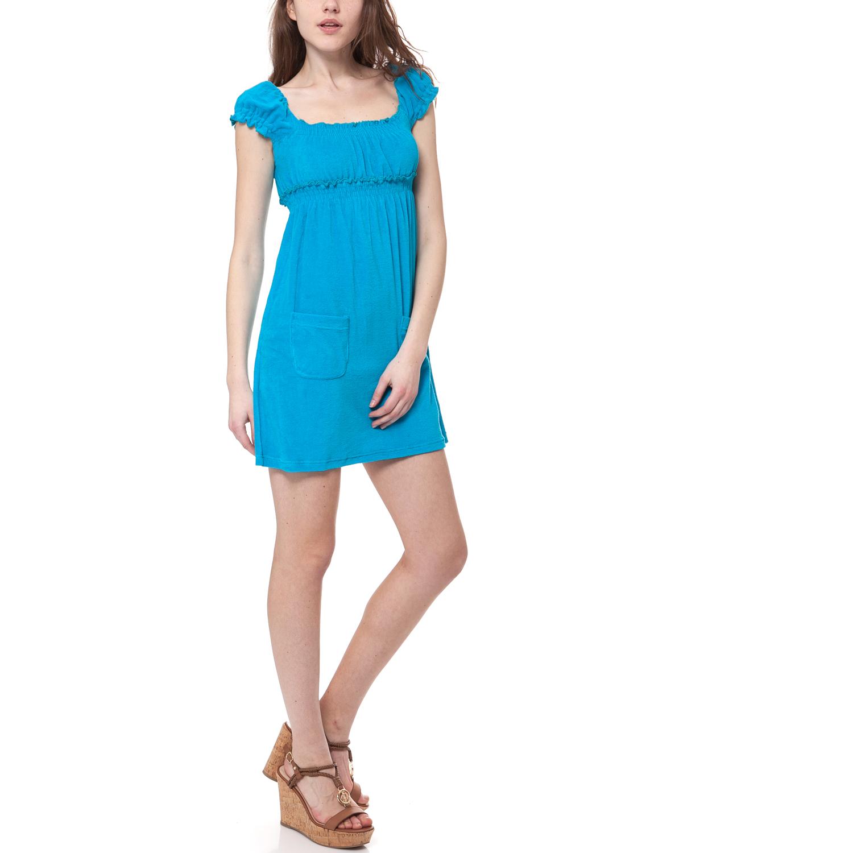 MYMOO - Γυναικείο φόρεμα MYMOO τυρκουάζ γυναικεία ρούχα φορέματα μίνι