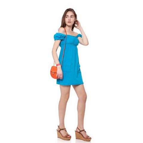 835b053b1805 Γυναικείο φόρεμα MYMOO τυρκουάζ (1577844.0-00t1)