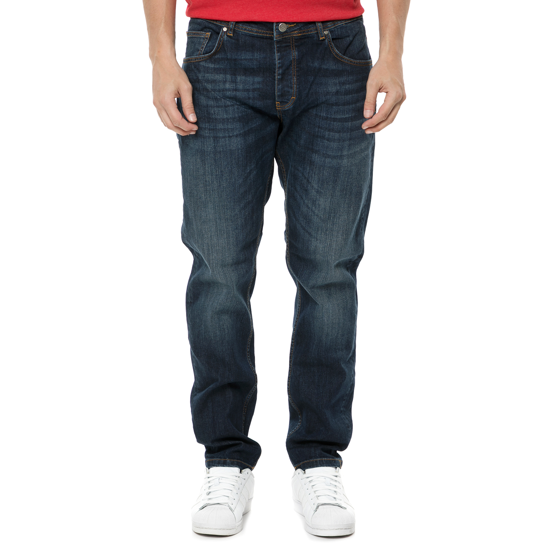 SORBINO - Ανδρικό τζιν παντελόνι SORBINO μπλε σκούρο