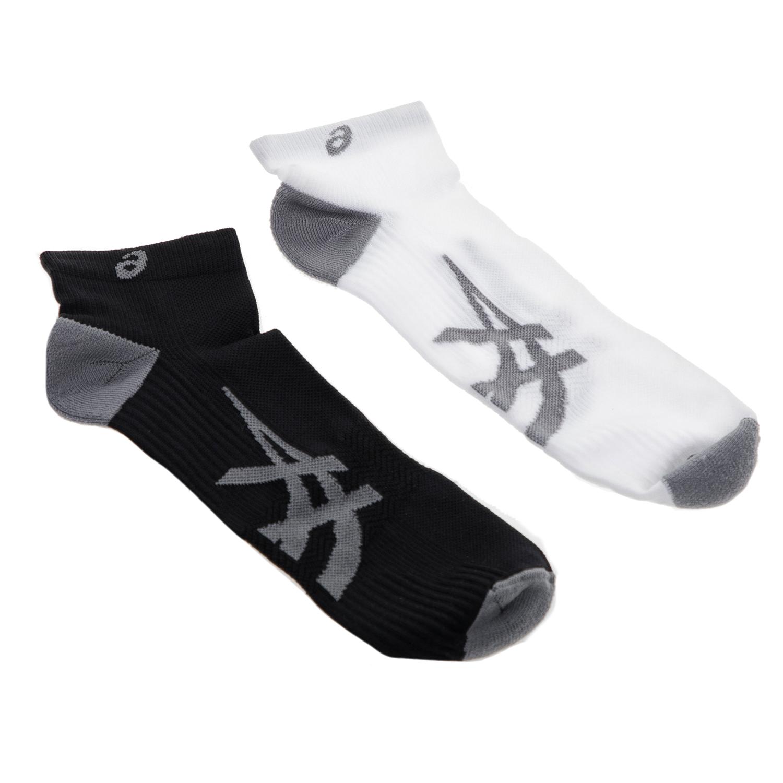 ASICS - Σετ κάλτσες 2 τμχ ASICS λευκές-μαύρες γυναικεία αξεσουάρ κάλτσες
