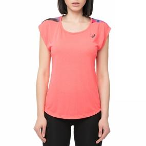 b47a4ec0f67 ASICS. Γυναικείο αθλητικό t-shirt NOVEL Asics ροζ