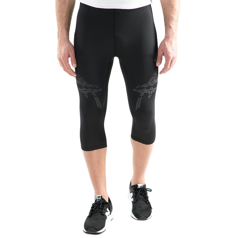 ASICS - Ανδρικό αθλητικό κάπρι κολάν Asics STRP KNEETIGHT μαύρο ανδρικά ρούχα αθλητικά κολάν