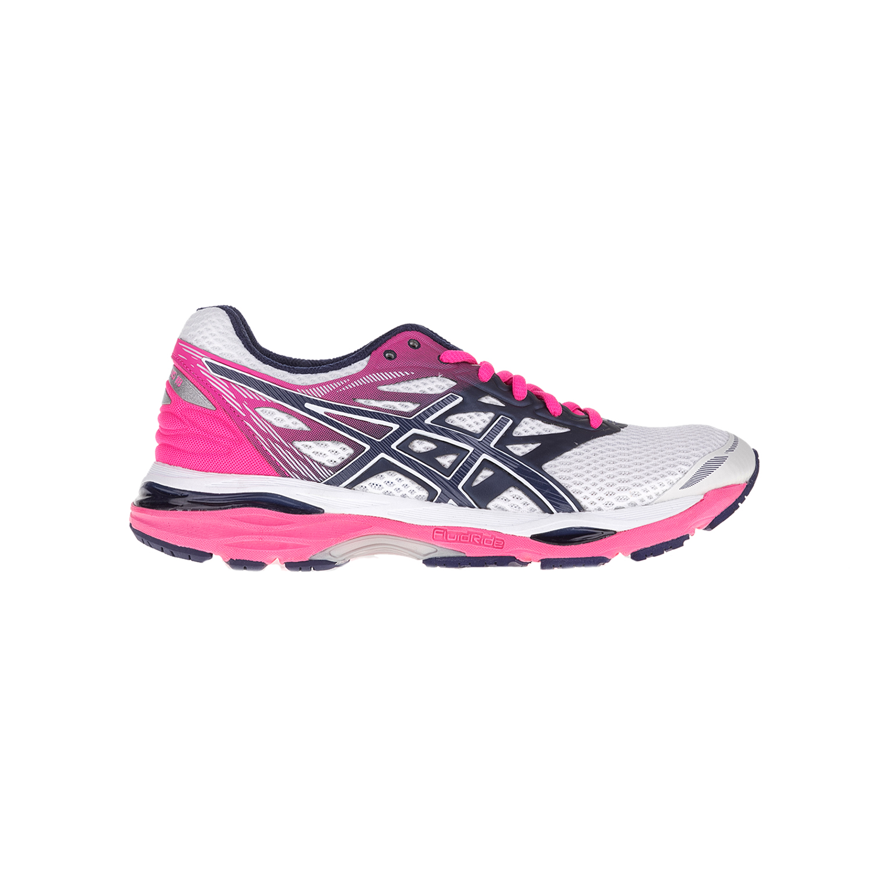 ASICS - Γυναικεία παπούτσια Asics GEL-CUMULUS 18 φούξια-λευκά γυναικεία παπούτσια αθλητικά running