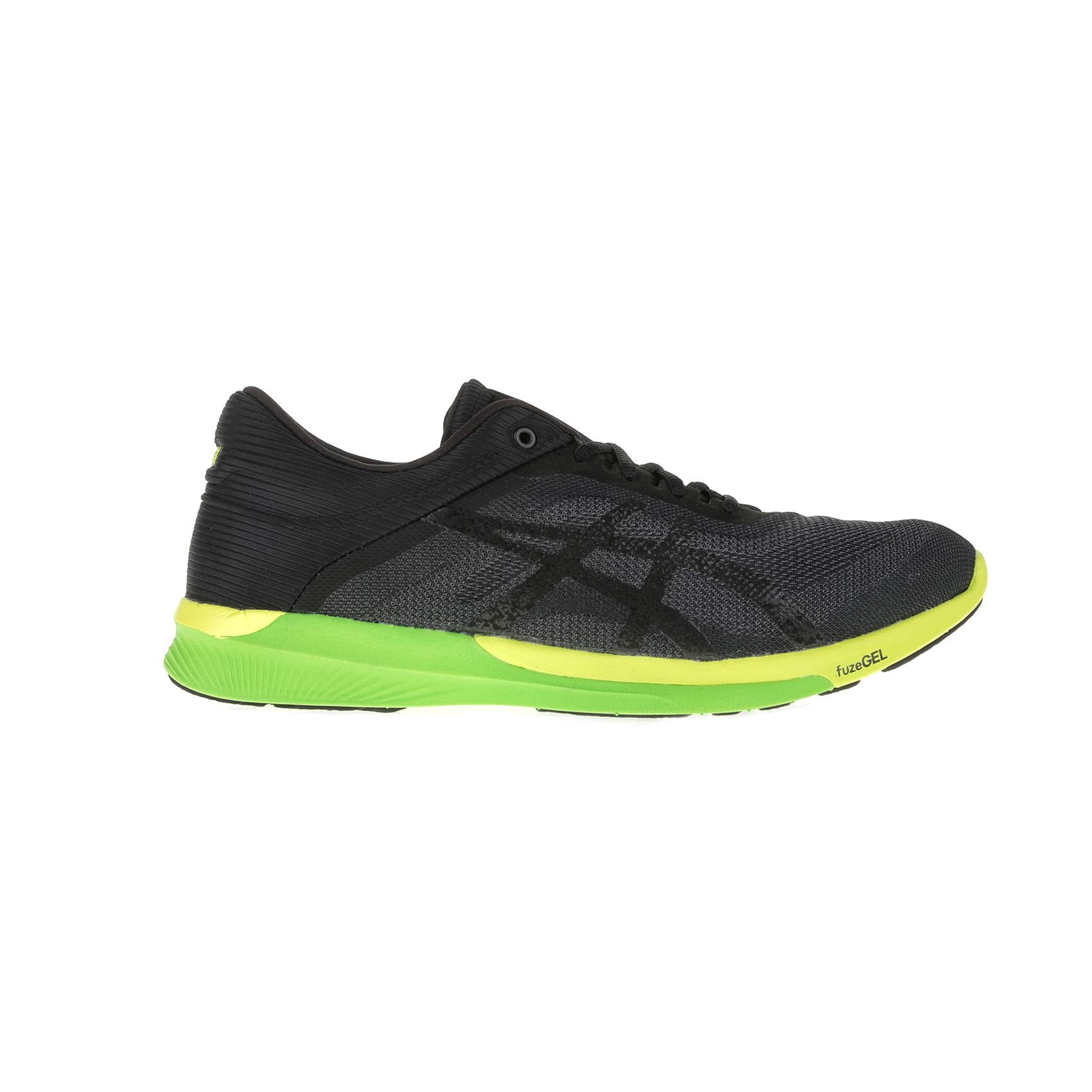 ASICS - Ανδρικά παπούτσια ASICS fuzeX Rush μαύρα-ανθρακί ανδρικά παπούτσια αθλητικά running