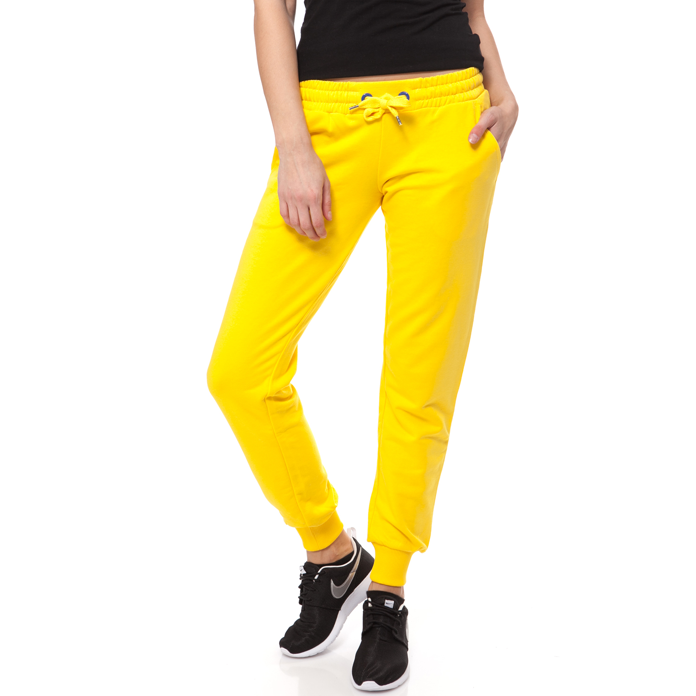 BODYTALK - Γυναικεία φόρμα BODYTALK κίτρινη γυναικεία ρούχα αθλητικά φόρμες
