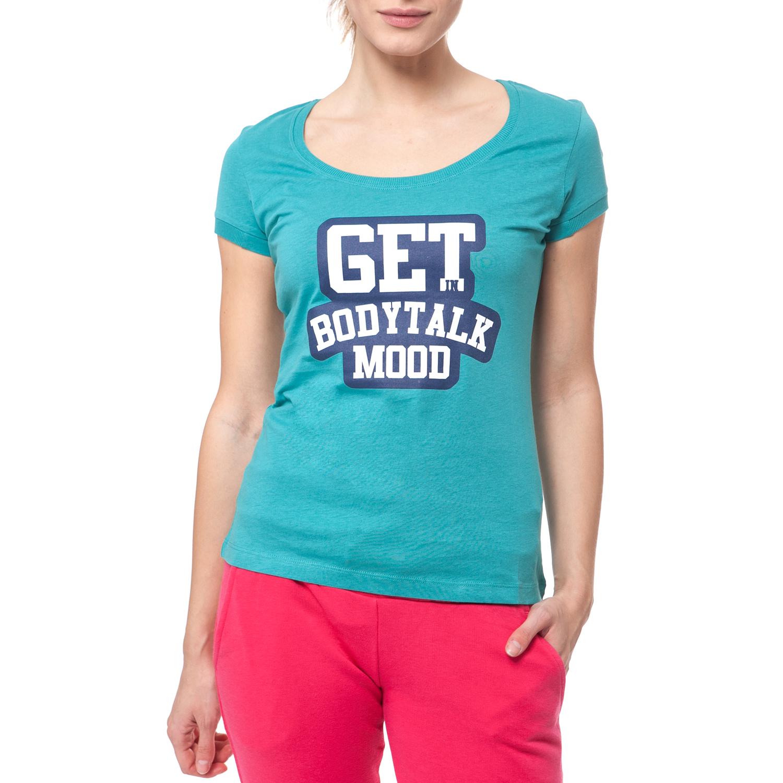BODYTALK - Γυναικεία μπλούζα BODYTALK πράσινη γυναικεία ρούχα αθλητικά t shirt τοπ