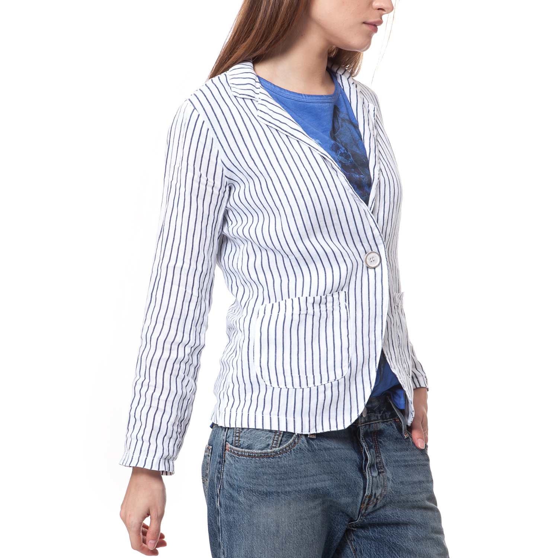 012eae0ccc99 'ALE - Γυναικείο σακάκι 'Ale λευκό, ΓΥΝΑΙΚΑ | ΡΟΥΧΑ | ΠΑΝΩΦΟΡΙΑ | ΣΑΚΑΚΙΑ
