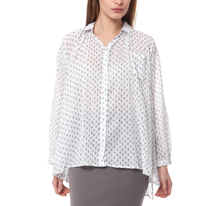 a6df63cf8c25 ALE - Γυναικείο πουκάμισο  Ale λευκό ⋆ OaFashion.gr