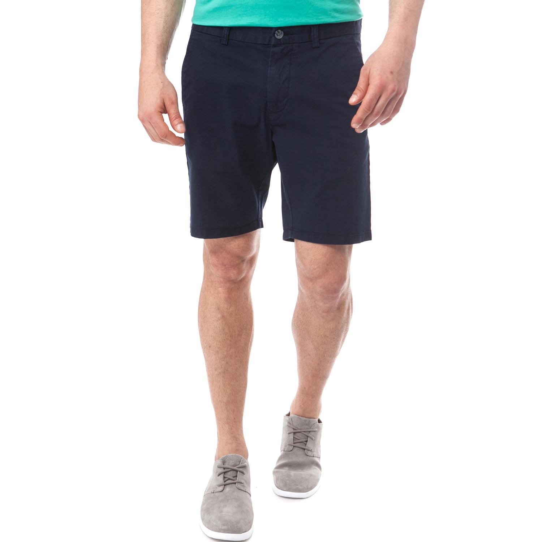 GANT - Ανδρική βερμούδα Gant μπλε ανδρικά ρούχα σορτς βερμούδες casual jean