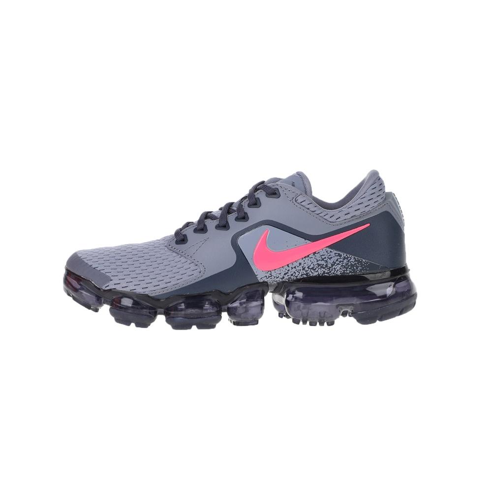 NIKE – Παιδικά αθλητικά running NIKE AIR VAPORMAX (GS) γκρι-ροζ