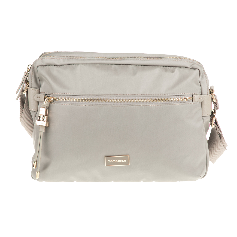 4e2d4ae61c SAMSONITE – Γυναικεία τσάντα χιαστί KARISSA SAMSONITE μπεζ. Factory Outlet