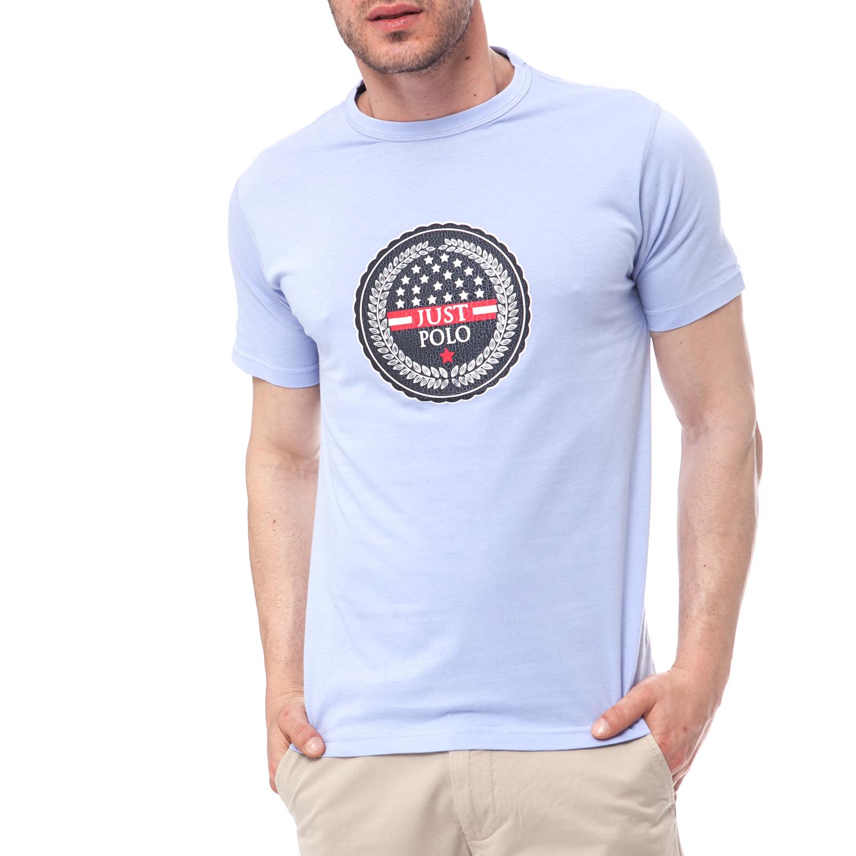 JUST POLO - Ανδρική μπλούζα Just Polo μπλε 9cad4805046