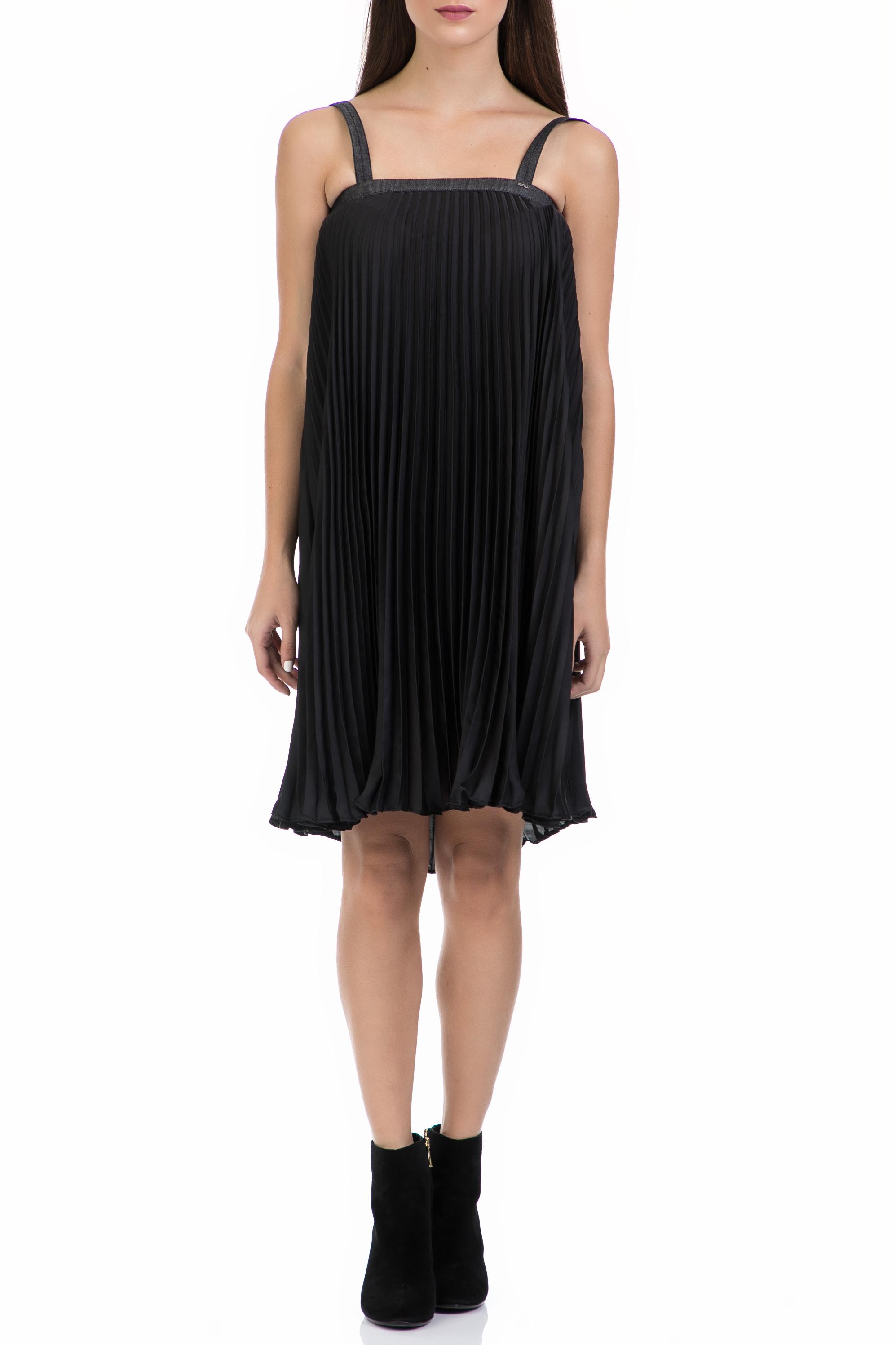 G-STAR - Φόρεμα G-STAR RAW μαύρο γυναικεία ρούχα φορέματα μίνι