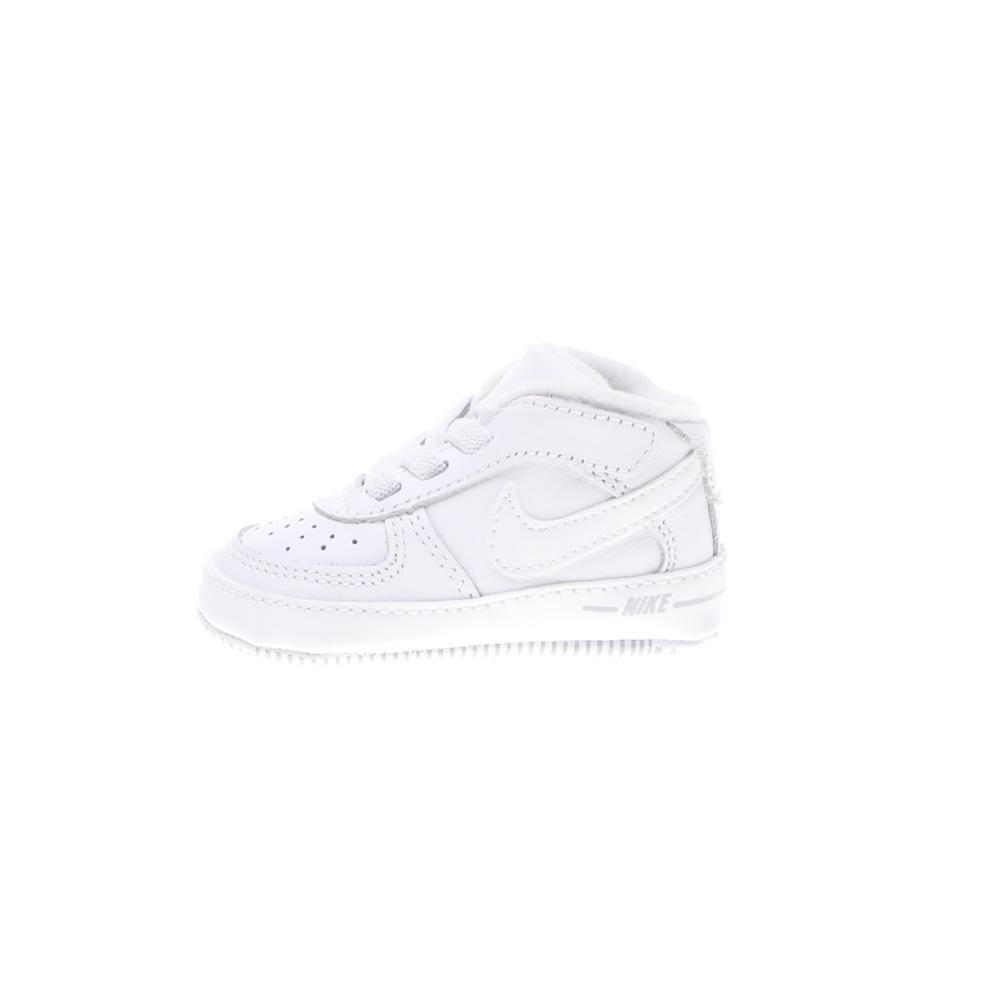 NIKE – Βρεφικά παπούτσια NIKE FORCE 1 (CB) λευκά