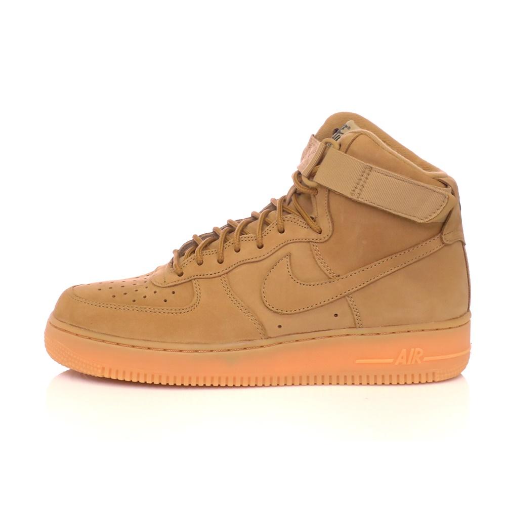 NIKE – Ανδρικά αθλητικά παπούτσια ΝΙΚΕ AIR FORCE 1 HIGH '07 LV8 WB μπεζ