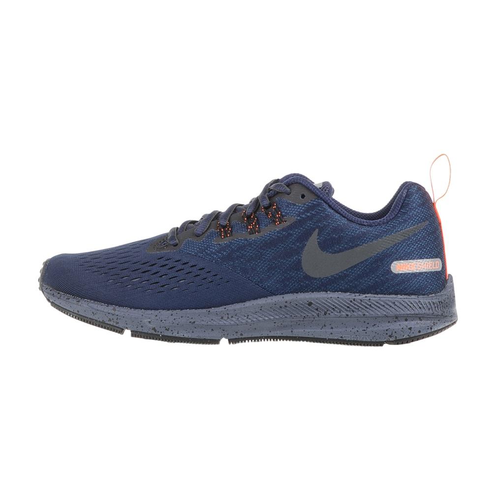 NIKE - Ανδρικά αθλητικά παπούτσια NIKE ZOOM WINFLO 4 SHIELD μπλε ανδρικά παπούτσια αθλητικά running