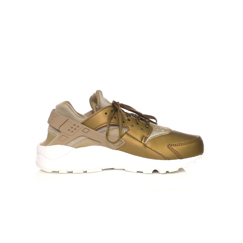 NIKE – Γυναικεία αθλητικά παπούτσια NIKE AIR HUARACHE RUN PRM TXT χρυσά
