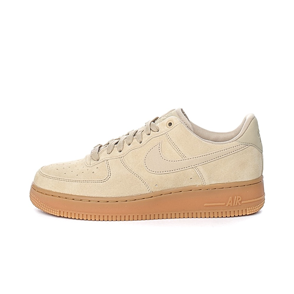 NIKE – Ανδρικά αθλητικά παπούτσια NIKE AIR FORCE 1 '07 LV8 SUEDE μπεζ