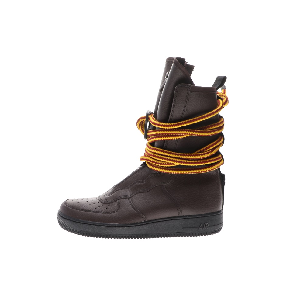 NIKE – Ανδρικά ψηλά παπούτσια basketball NIKE SF AF1 HI καφέ