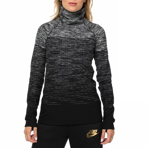 6241b884d12a Γυναικεία αθλητική μακρυμάνικη μπλούζα NIKE HPRWM TOP NEW ENG NRDC γκρι  (1580825.1-g491)