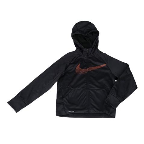 NIKE- Αγορίστικη ζακέτα προπόνησης Nike Therma μαύρη