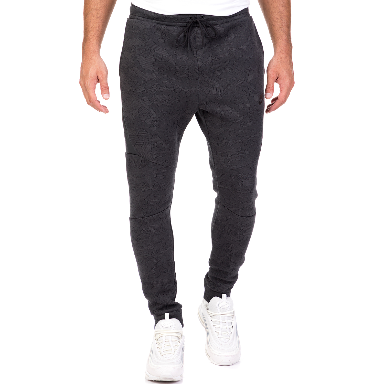 NIKE - Ανδρικό παντελόνι φόρμας Nike Sportswear Tech Fleece σκούρο γκρι