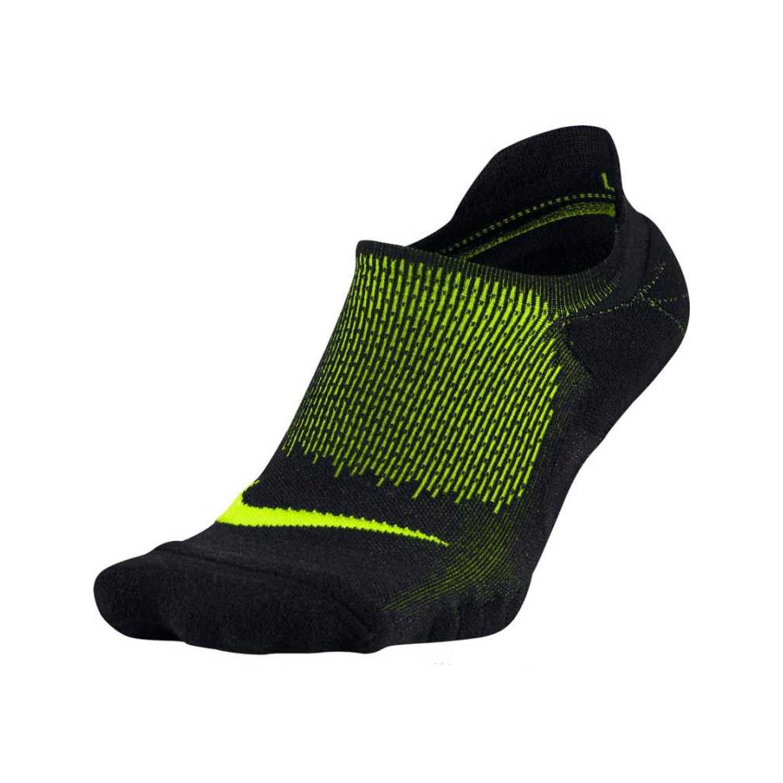 NIKE - Unisex αθλητικές κάλτσες NIKE ELITE RUNNING MERINO CUSH μάυρες