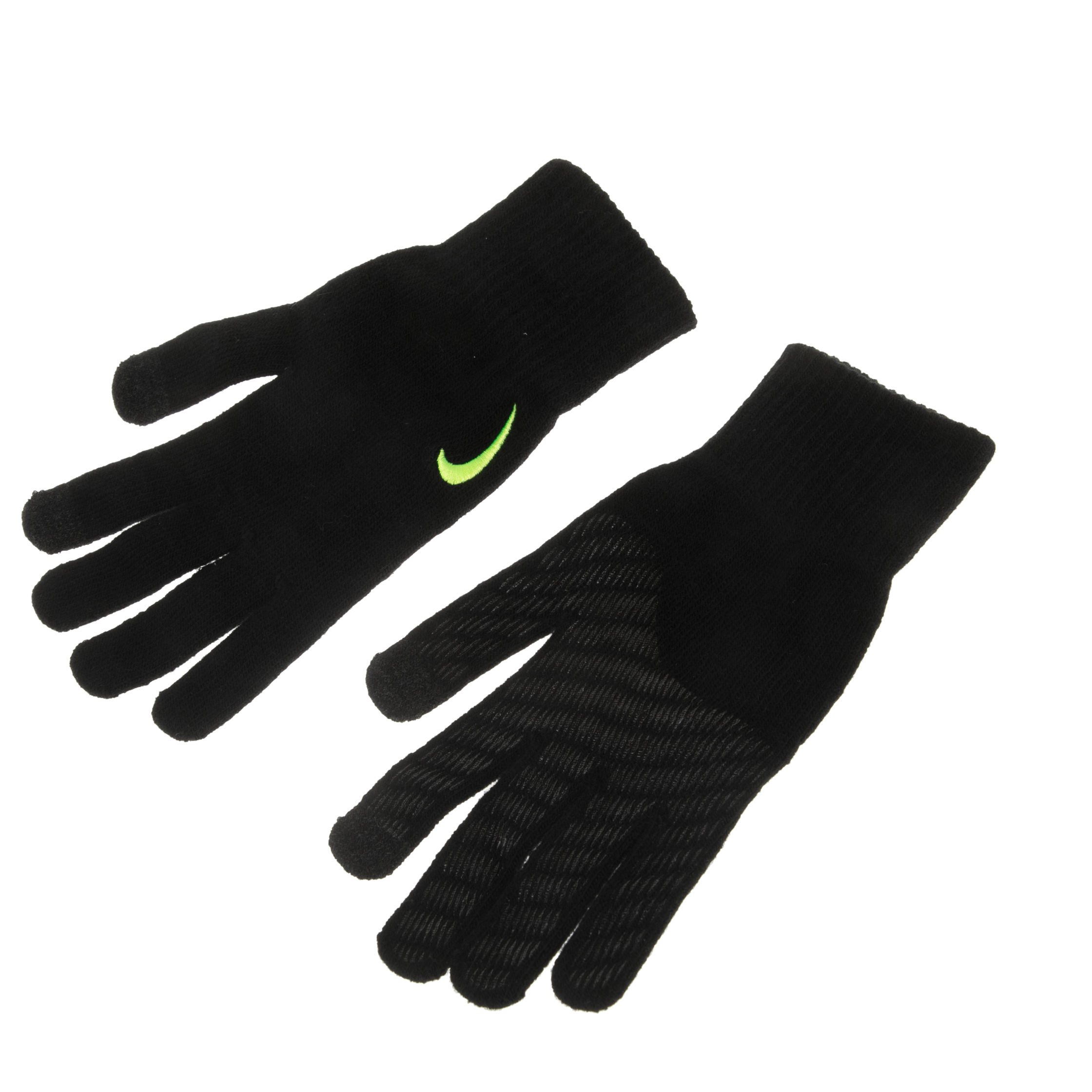 NIKE ACCESSORIES - Unisex γάντια NIKE KNITTED TECH AND GRIP μαύρα γυναικεία αξεσουάρ φουλάρια κασκόλ γάντια