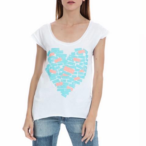 Γυναικεία μπλούζα MYMOO λευκή (1581704.0-0091)  a120aa9e88c