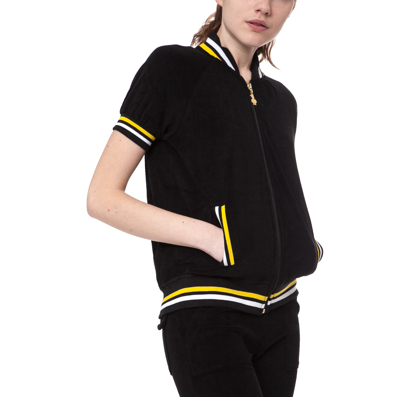 MYMOO - Γυναικεία ζακέτα MYMOO μαύρη γυναικεία ρούχα φούτερ ζακέτες