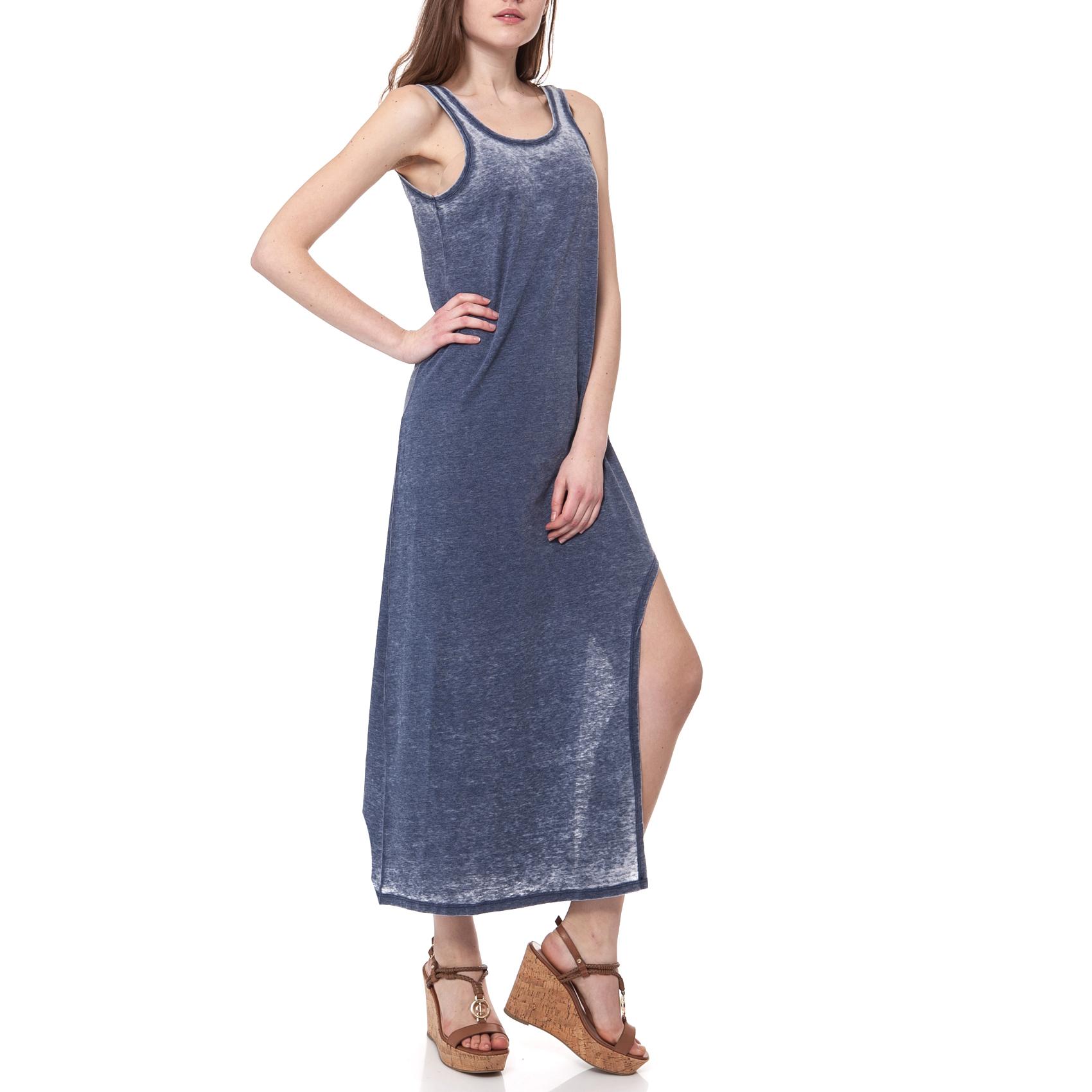 MYMOO - Γυναικείο φόρεμα MYMOO μπλε 03b2d22f678