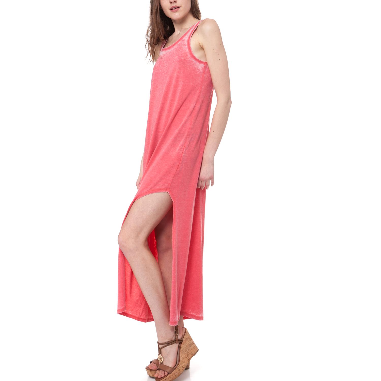 MYMOO - Γυναικείο φόρεμα MYMOO κοραλί γυναικεία ρούχα φορέματα μάξι
