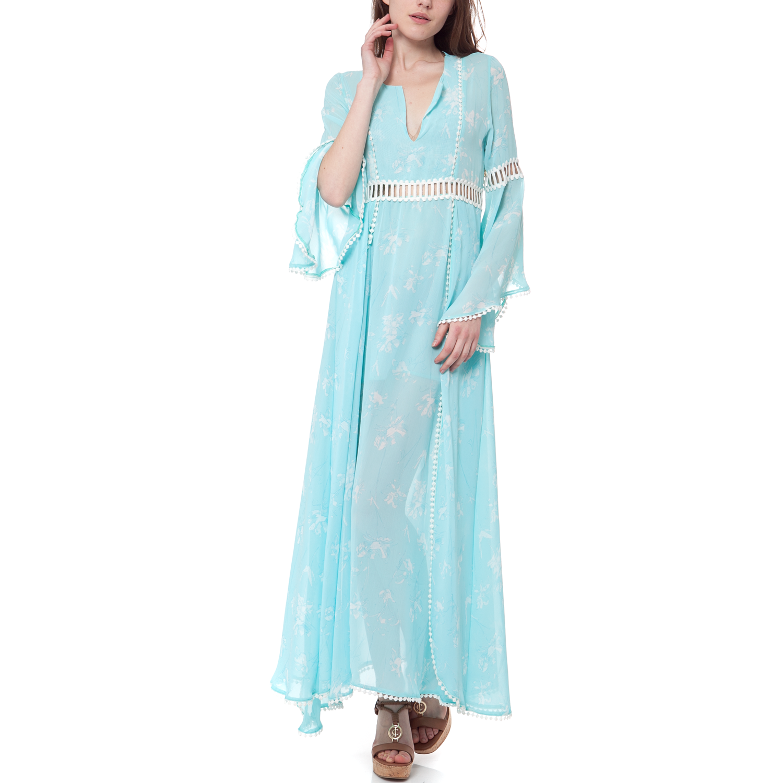 fe966631c468 MYMOO – Γυναικείο φόρεμα MYMOO γαλάζιο