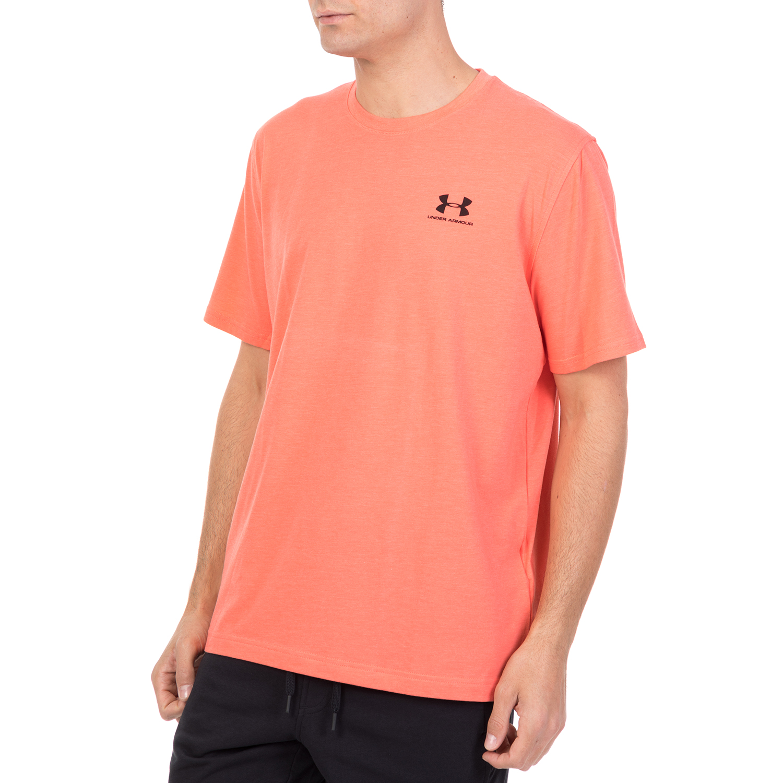c68bc36cee6e UNDER ARMOUR - Ανδρική κοντομάνικη μπλούζα Under Armour CC LEFT CHEST  LOCKUP πορτοκαλί