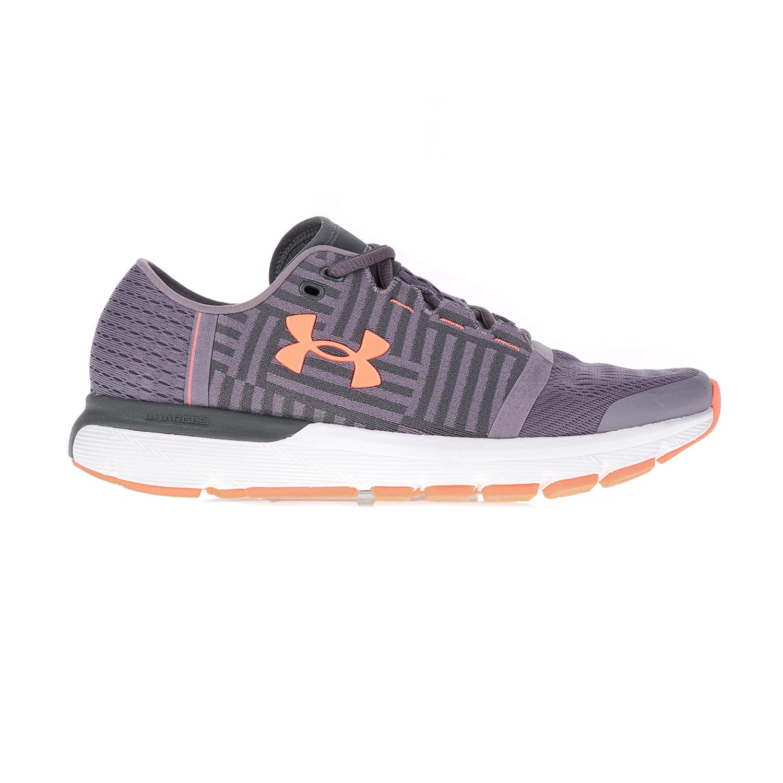 UNDER ARMOUR – Γυναικεία αθλητικά παπούτσια UNDER ARMOUR SPEEDFORM GEMINI 3  γκρι-μοβ 0cac8f4a9b4