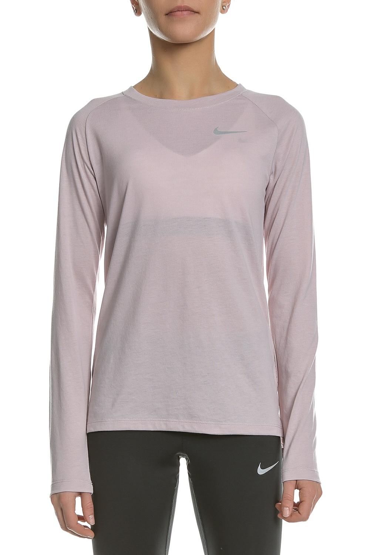 c42c717cd6 NIKE - Γυναικεία μακρυμάνικη μπλούζα Nike TAILWIND ροζ