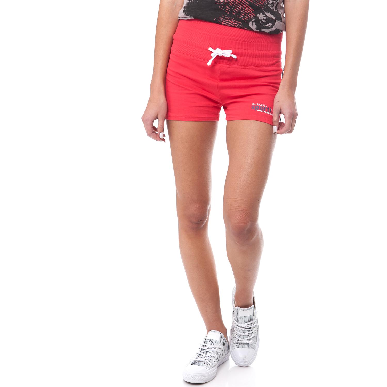 GAMBLING - Γυναικείο σορτς Gambling κόκκινο γυναικεία ρούχα σορτς βερμούδες αθλητικά