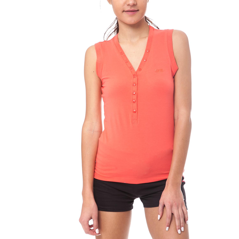 GAMBLING - Γυναικεία μπλούζα Gambling πορτοκαλί γυναικεία ρούχα μπλούζες αμάνικες