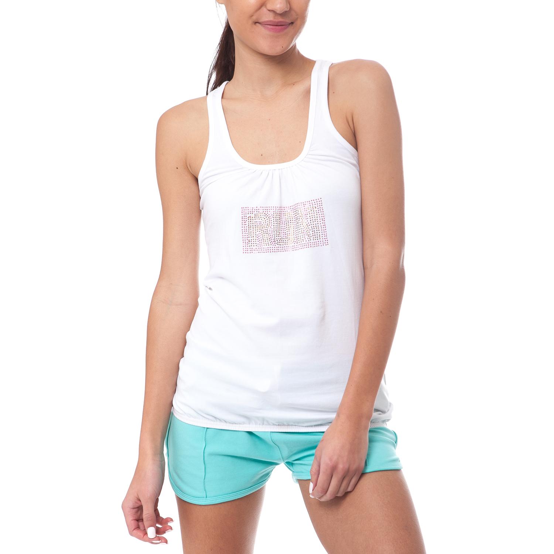 GAMBLING - Γυναικεία μπλούζα Gambling λευκή γυναικεία ρούχα μπλούζες αμάνικες
